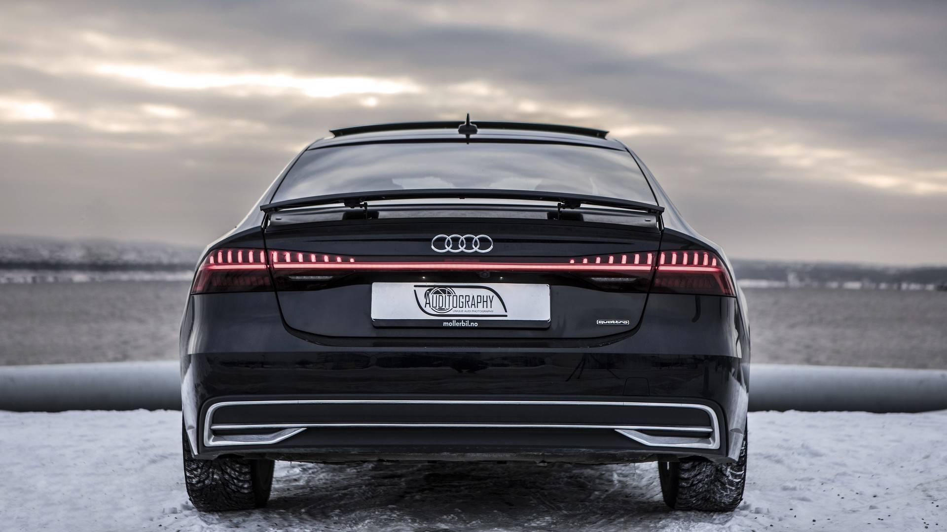 Audi A Brings Sexy Back In Beauty Shots - Audi a7