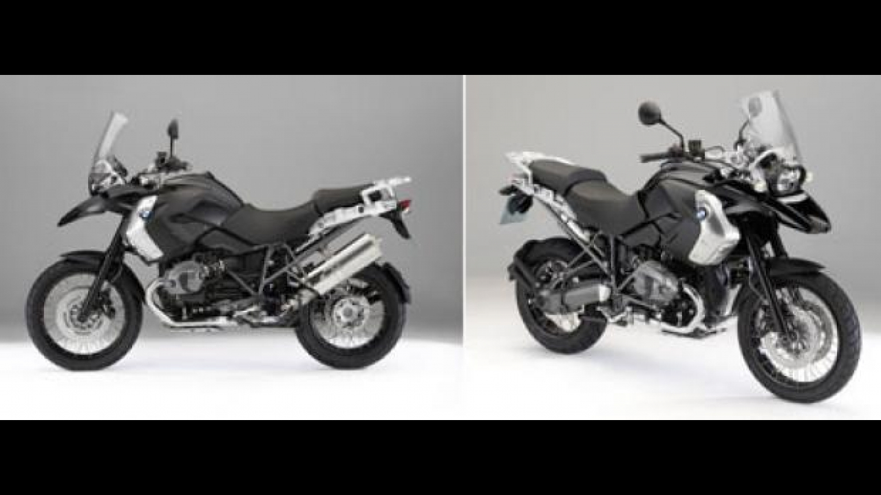 BMW R 1200 GS Triple Black 2011