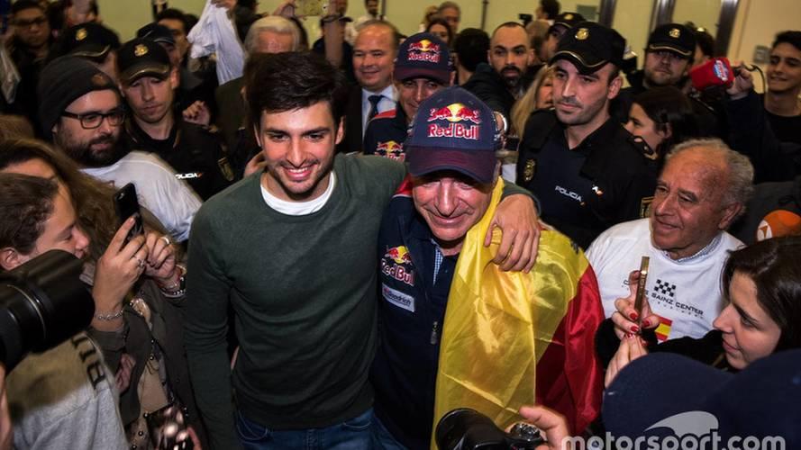 """Carlos Sainz: """"La fortuna nos sonrió con los pequeños problemas"""""""