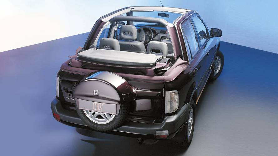 Honda CR-V open air par Valmet