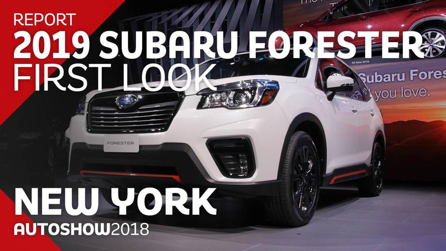 2019 Subaru Forester: First Look Video