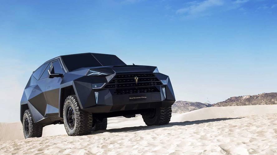 Videó: A világ legdrágább SUV-ja, amely semmihez sem hasonlítható