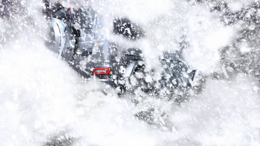 Snowy Mercedes G-Class Photo Teases What We Already Know