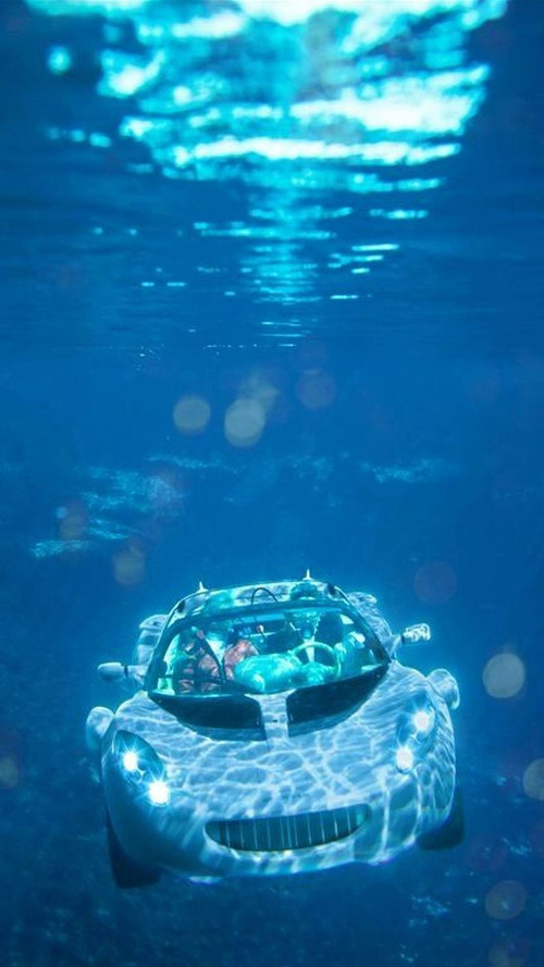 Rinspeed sQuba Under Water Photos and Video