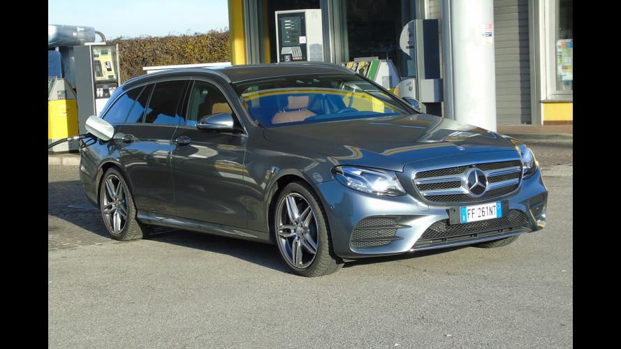 Mercedes E 220 d Station Wagon, la prova dei consumi reali