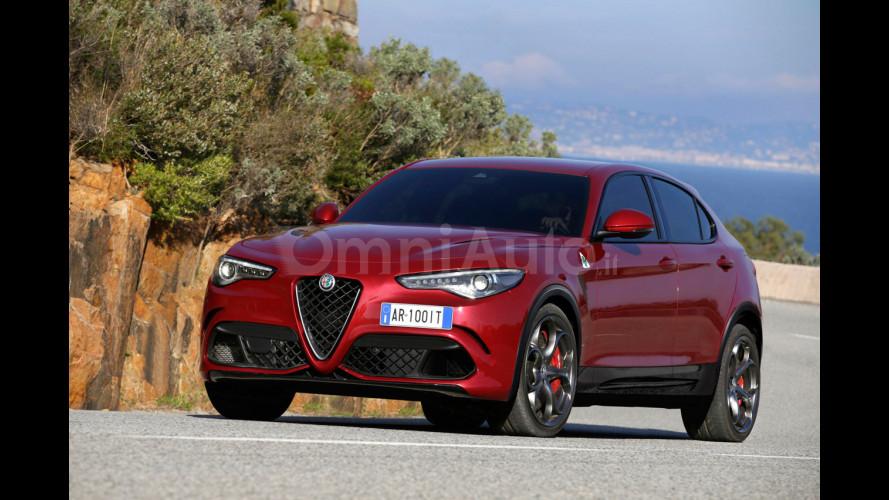 Alfa Romeo Stelvio, un Quadrifoglio anche per il SUV