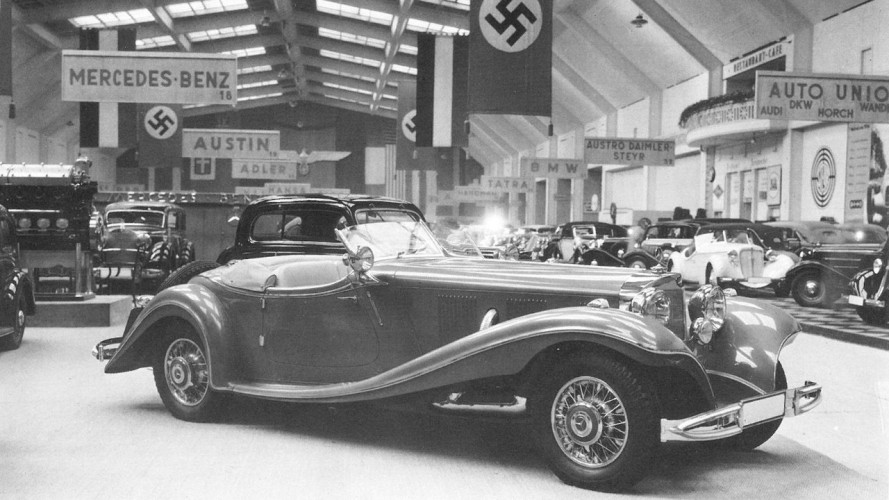 Mercedes, l'incredibile storia della 500K Special Roadster rossa