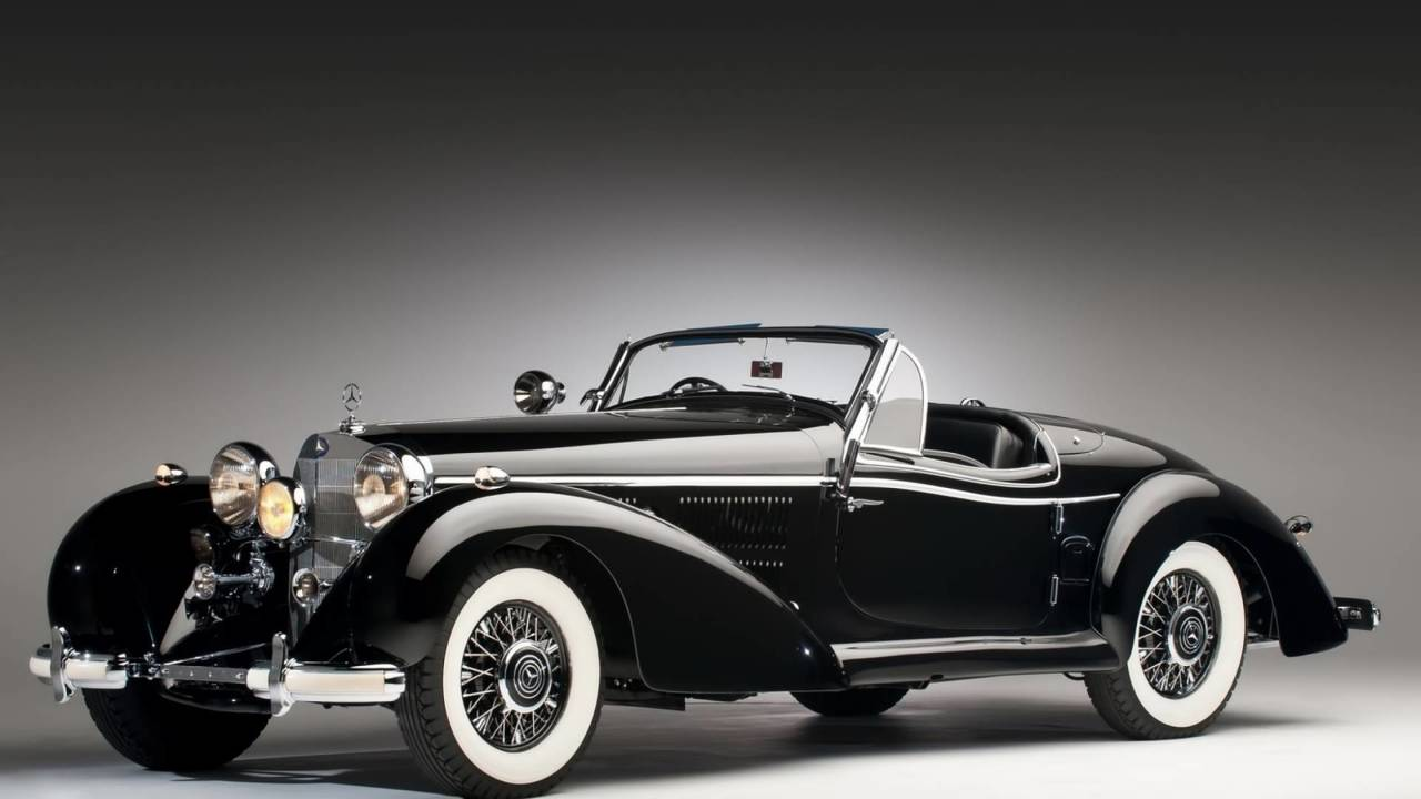 5.- Mercedes-Benz 540 K Special Roadster