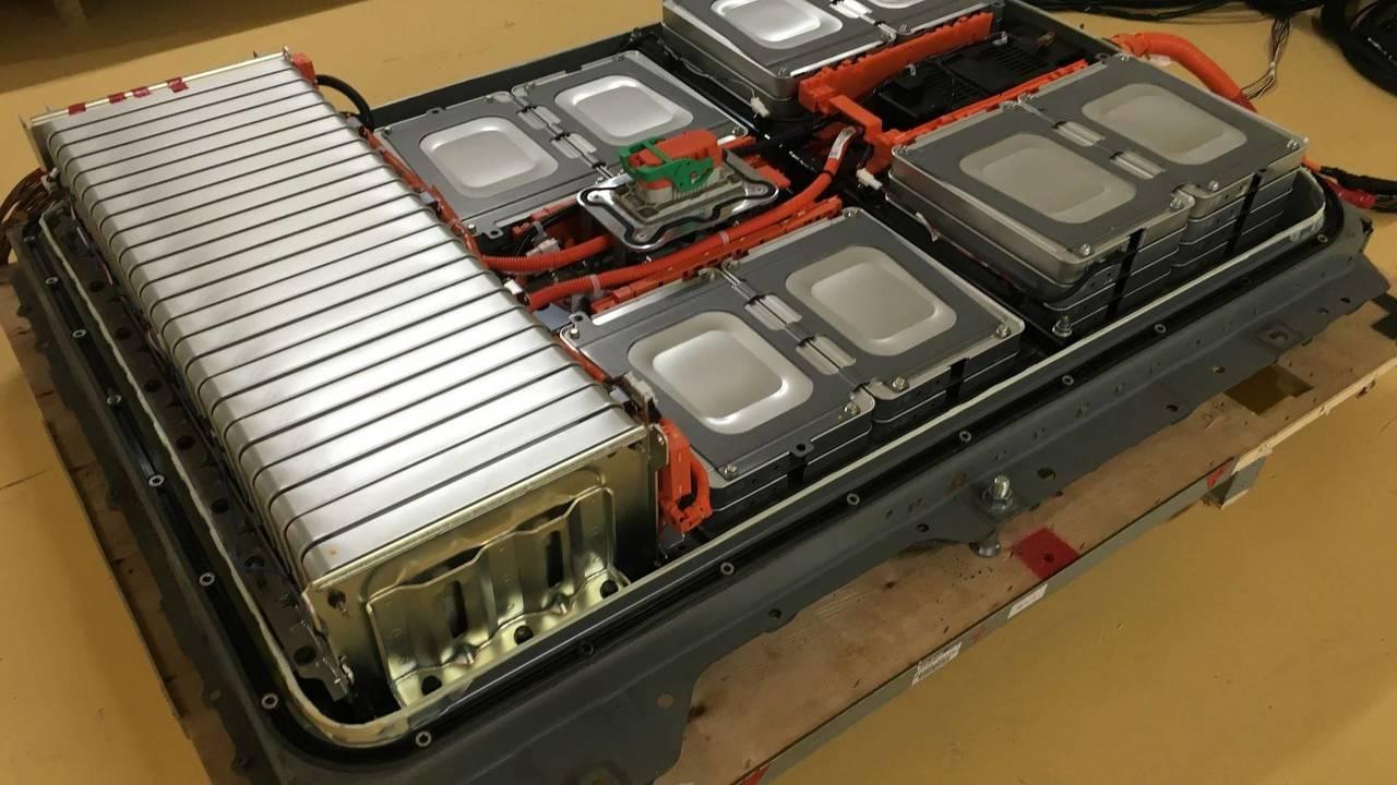 Nissan Leaf refabricated battery