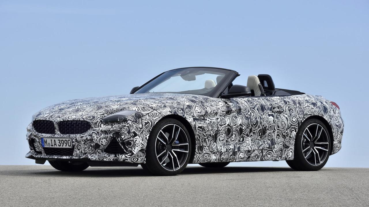 2019 BMW Z4 teaser