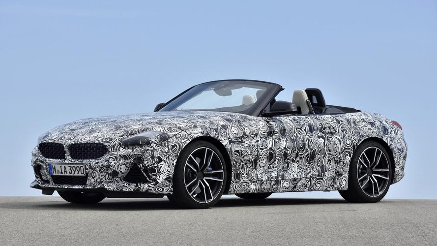 BMW Z4 2018: descubre sus primeras imágenes oficiales (incluye vídeo)