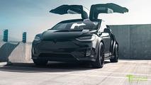 Tesla Model X P100D T largo