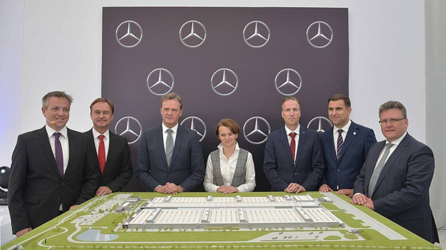 Mercedes-Benz engine plant in Poland