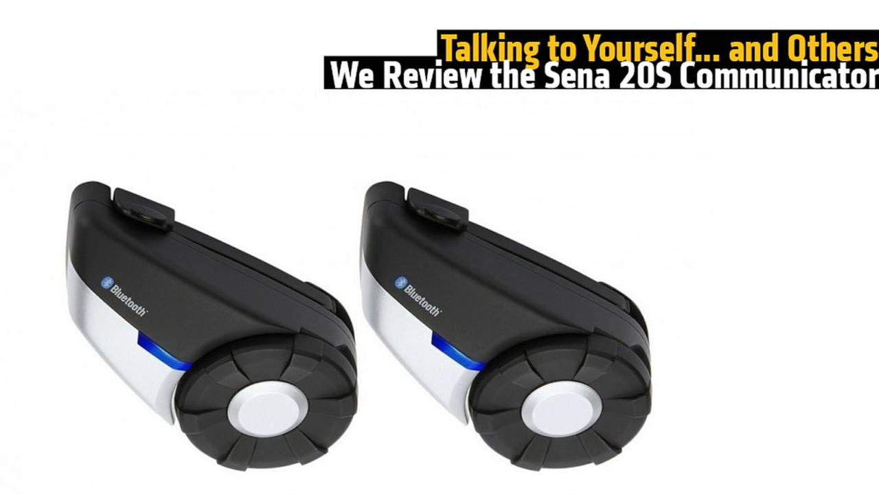 Talking to Yourself... and Others - We Review the Sena 20S Communicator