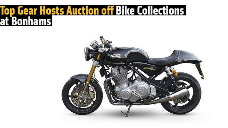 Top Gear Hosts Auction off Bike Collections at Bonhams