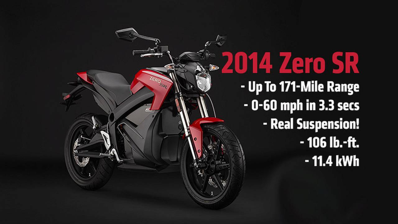 2013 EICMA: 2014 Zero SR — Finally, A Fast, High-Spec Motorcycle