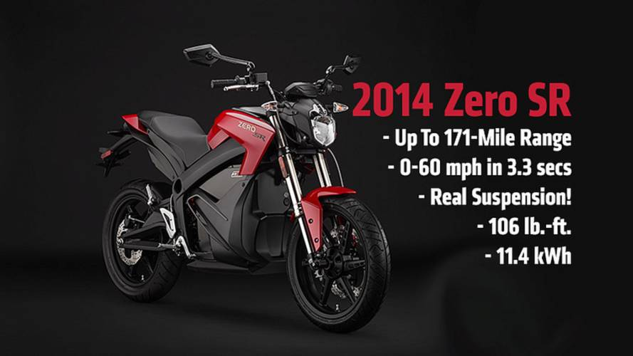 2014 Zero SR: Finally, A Fast, High-Spec Electric Motorcycle