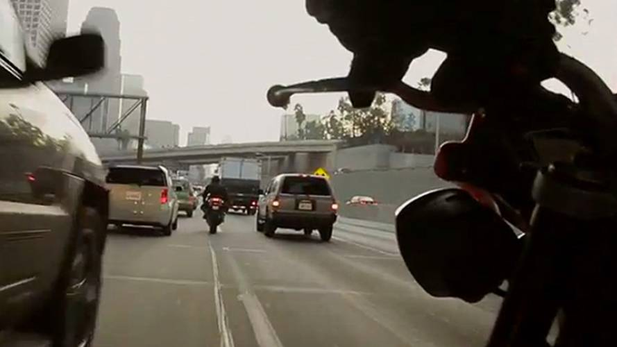 Lane Splitting: So Exactly Where Is It And Isn't It Legal?