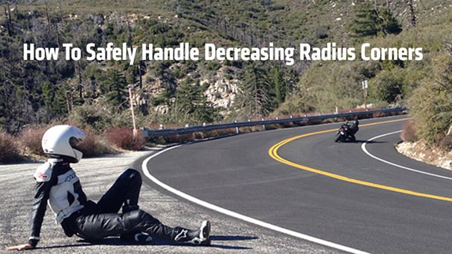 Riding Skills: How To Safely Handle Decreasing Radius Corners
