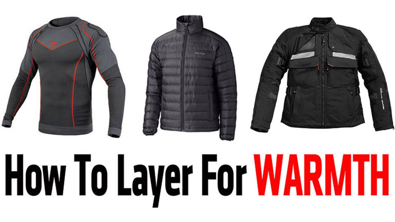 How To Layer for Warmth – Winter Motorcycle Gear Made Easy