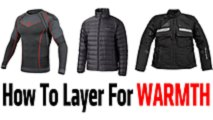 how to layer for warmth winter motorcycle gear made easy