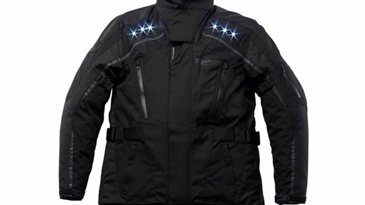 Triumph Light Jacket: LEDs make you visible