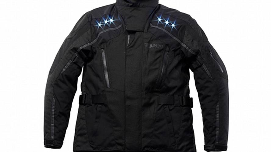 Triumph Light Jacket: LEDs make you visible