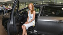 Miss France 2018 en Peugeot 2008