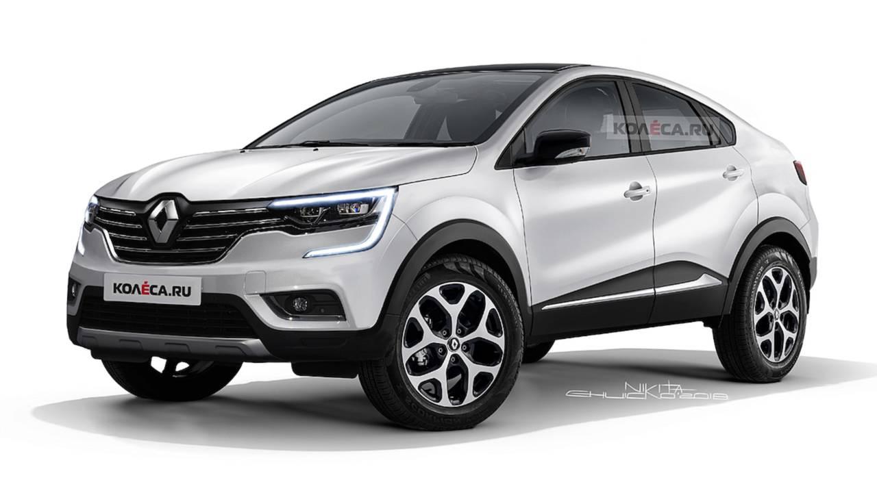 Renault Captur Coupé - Projeção