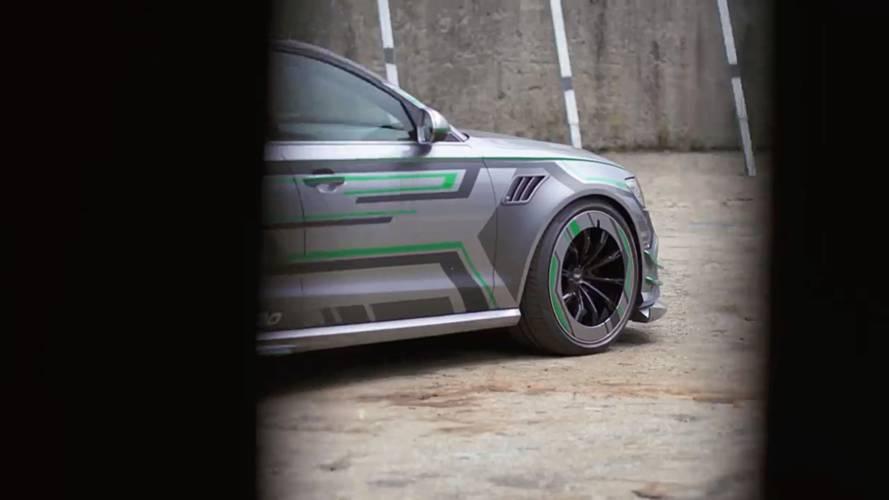 Audi RS6-E ABT teasers