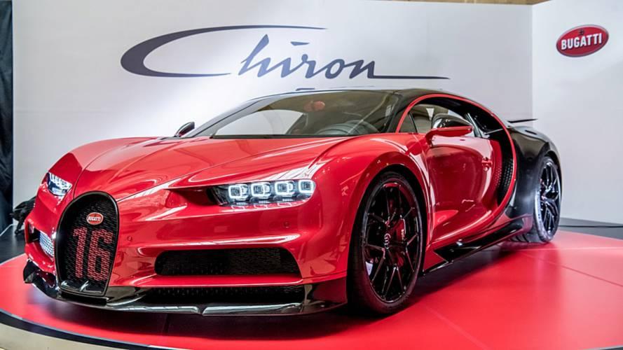 La Bugatti Chiron Sport débarque en Asie