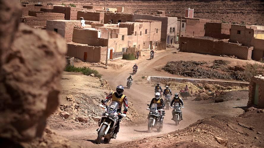 Honda España anuncia el tercer Africa Twin Morocco Epic Tour