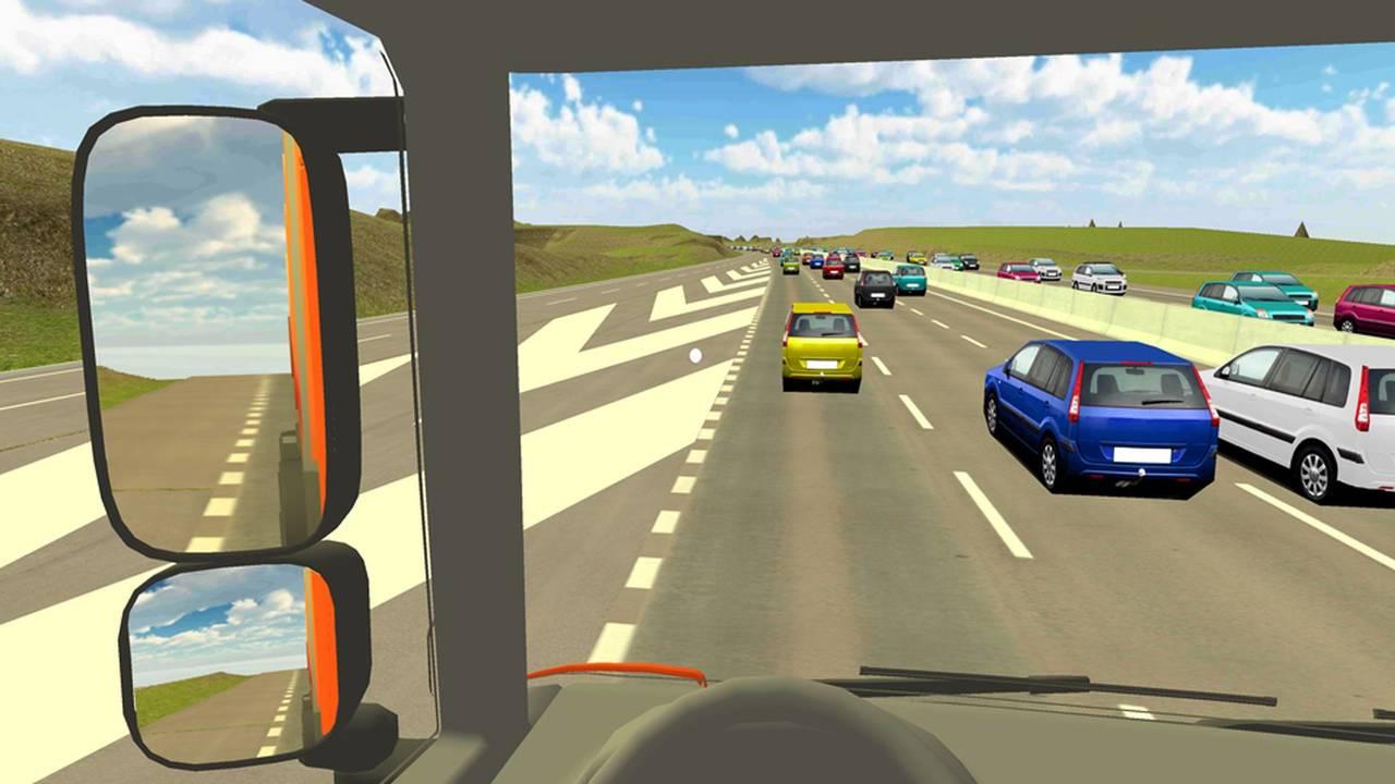 Highways England VR HGV Blind Spot App
