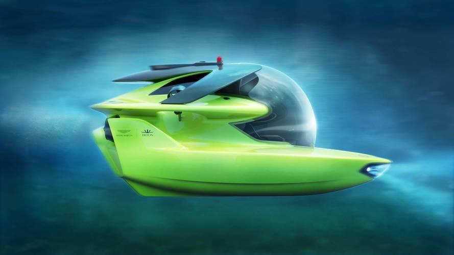 Aston Martin comienza la producción de su submarino Project Neptune