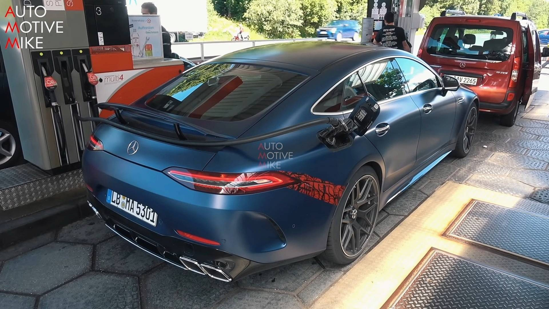 Mercedes AMG GT 4 Door Coupe Back At The Nurburgring Without Camo