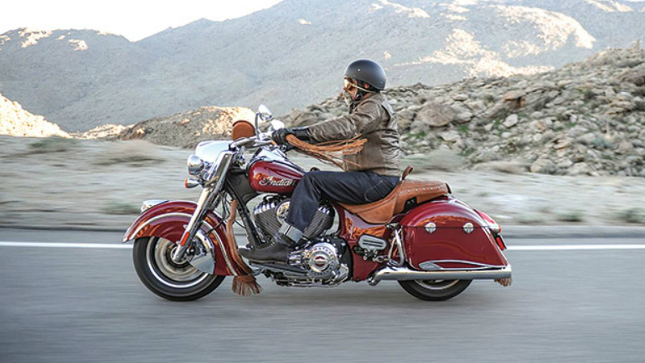 2016 Indian Springfield — Vintage Look, Modern Ride!