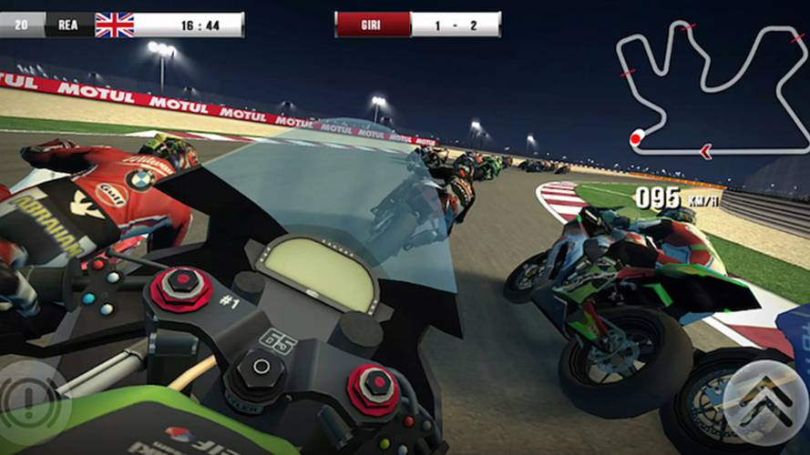 WSBK Official Mobile Game Introduces Virtual Reality