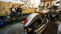 swiss young guns to race indian scout