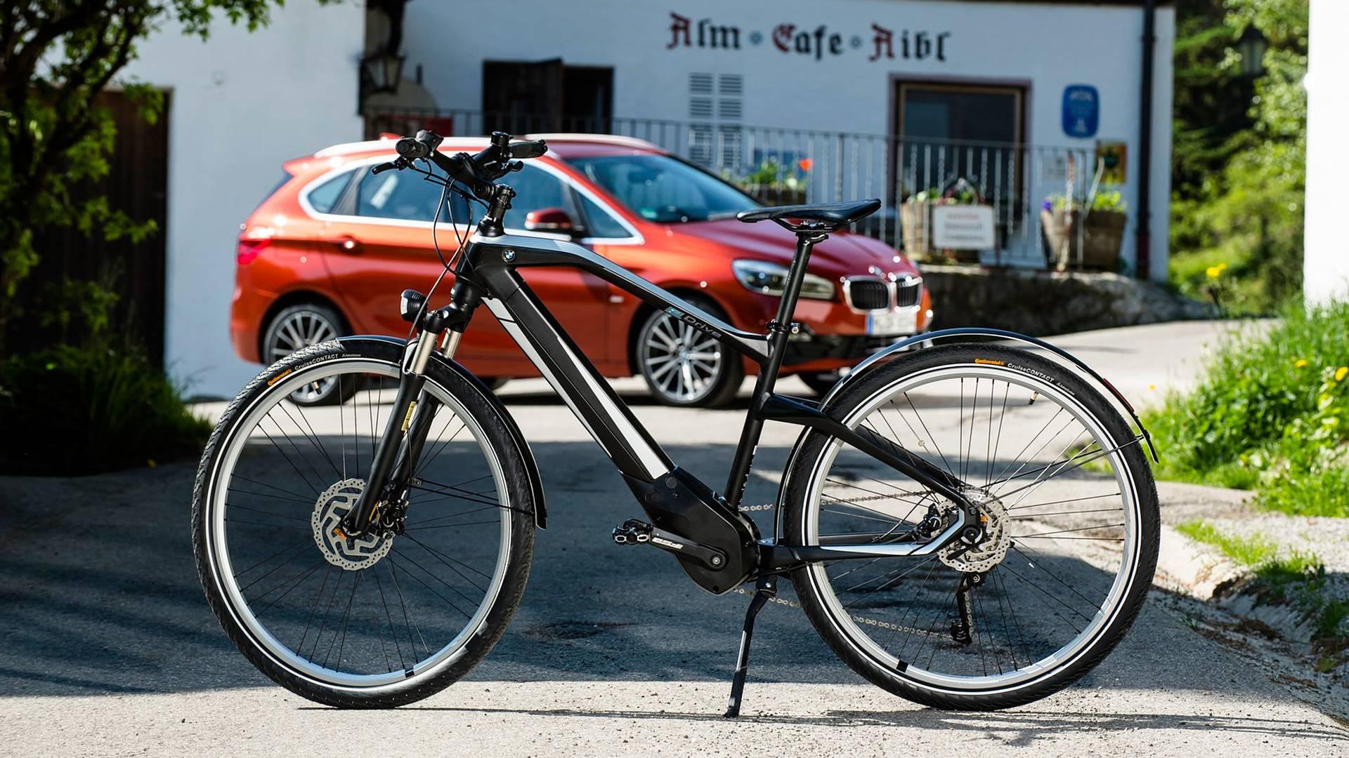 Bmw Active Hybrid E Bike Tutta Sua La Città