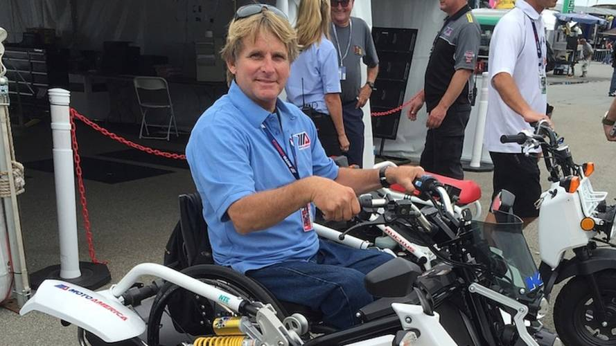 Wayne Rainey's Crazy Cool Wheelchair Grom-Looking Trike