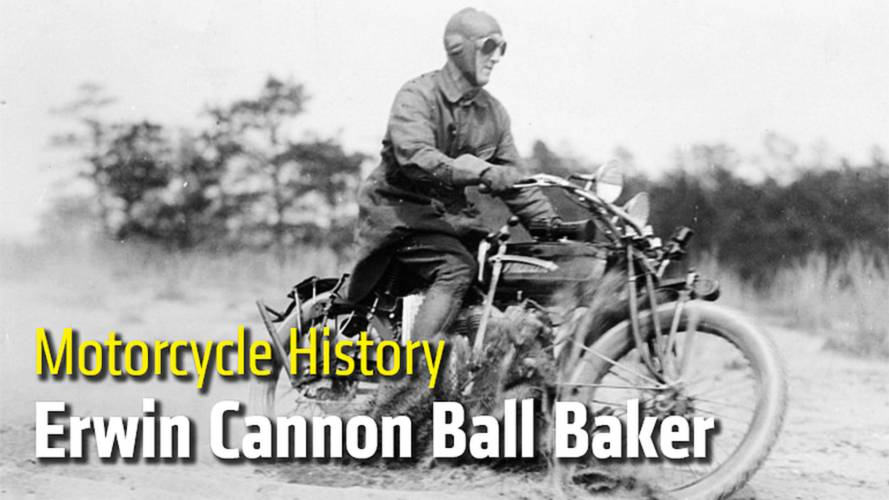 Motorcycle History: Erwin Cannon Ball Baker