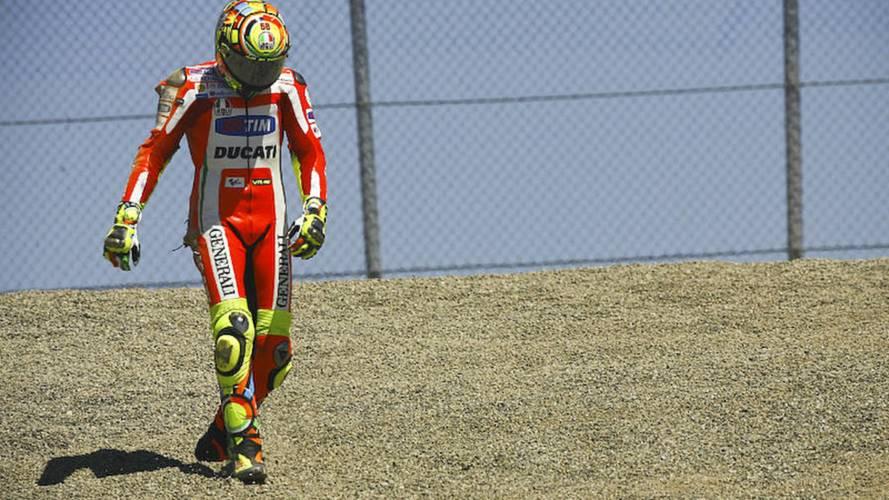 Rossi speaks on Ducati departure