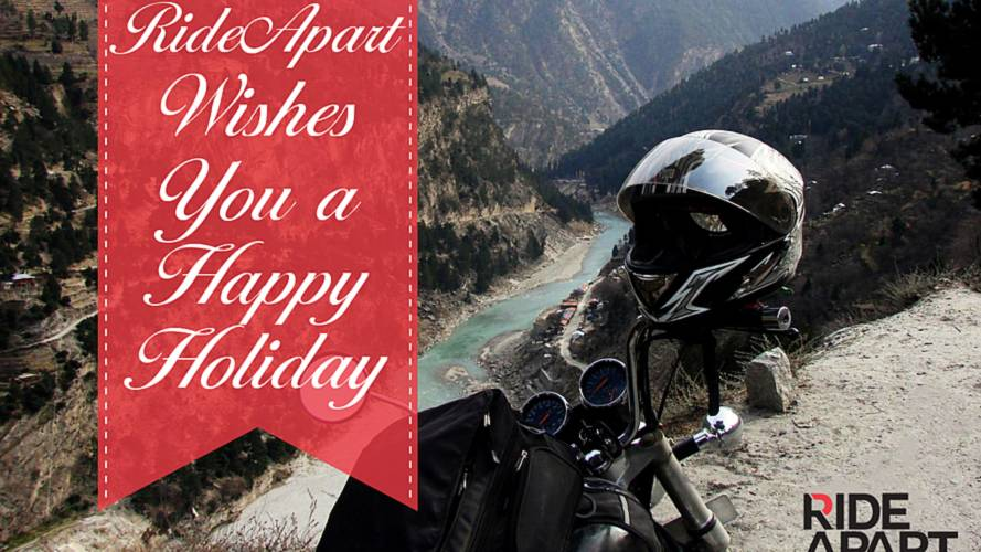 Happy Holidays - Thank You From RideApart