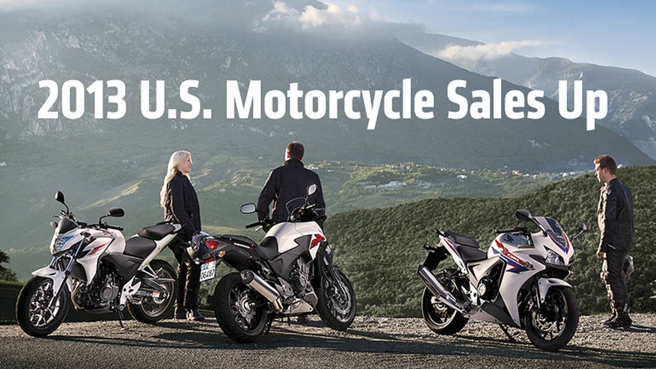 2013 U.S. Motorcycle Sales Up – Scooters Down