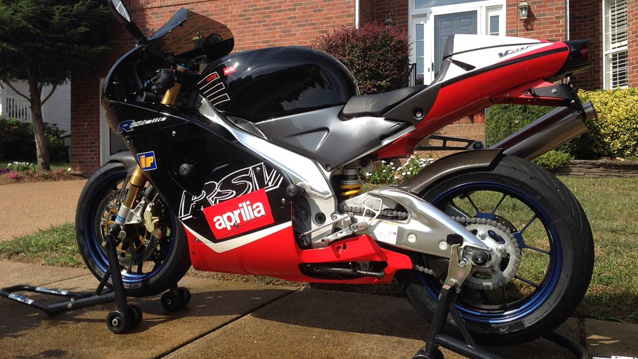Why I Ride An Aprilia - A Love Story
