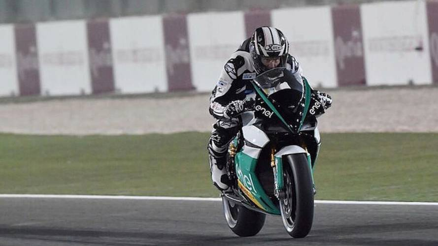 Energica EgoGP Makes Debut at Qatar GP