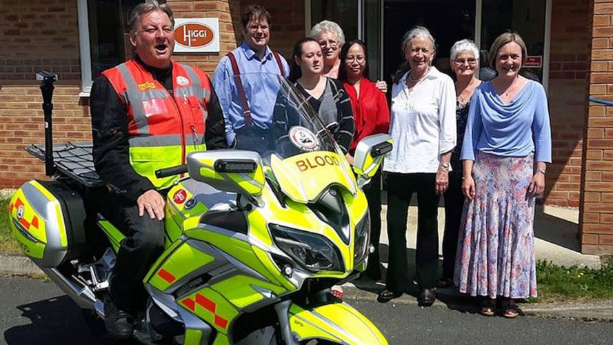 UK's NHS Transporting Blood and Organs Via Motorcycles