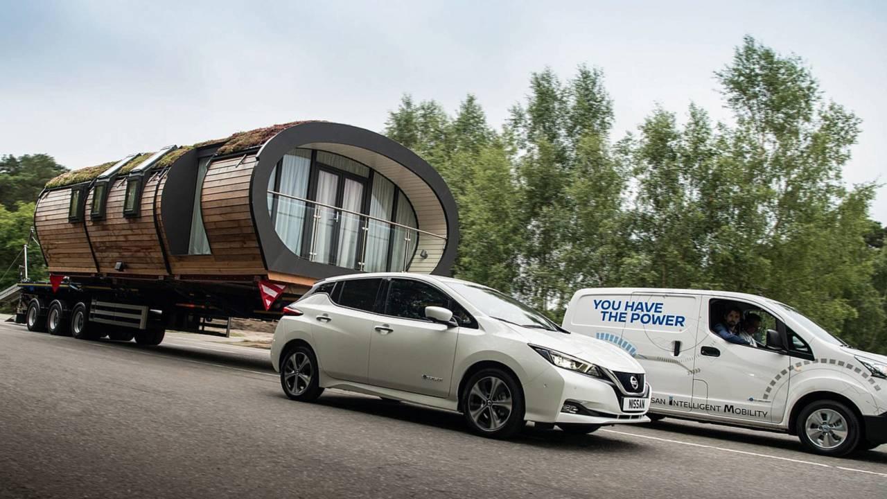 Nissan e-NV200: el eléctrico que más peso remolca