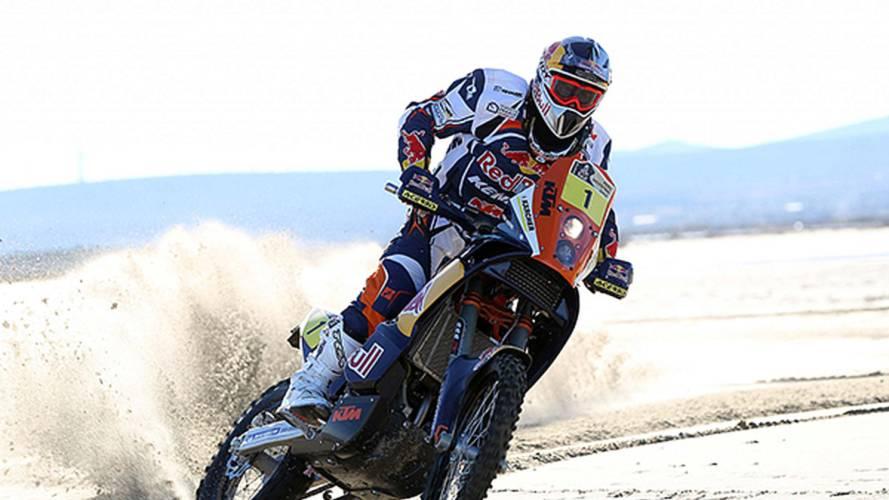KTM's 2013 Dakar Rally team