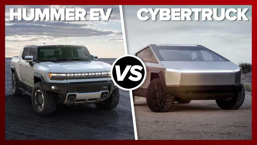 How Will The GMC Hummer EV Stack Up With The Tesla Cybertruck?
